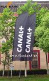 bandiera di volo di stampa di 3.4m Digitahi/bandierina di alluminio esterne della piuma