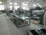 Drehtisch-pneumatische heiße Aushaumaschine für Leder