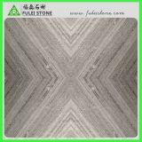 Parsaの灰色の木製の静脈の大理石のブラウンの大理石の平板