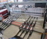 Automático de corte caliente camiseta bolsa de compras que hace la máquina (HSRQ-500X2)