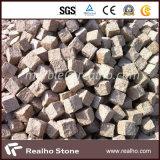 10X10X10 Chine G682 Pavé Rustique en Granit Rustique pour Jardin Patio / Passerelle / Allée