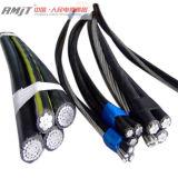 Надземный изолированный PVC/PE/XLPE кабель ABC воздушный связанный