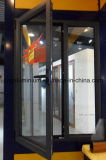 Окно алюминиевого наклона Daluminium деревянной рамки внутреннее