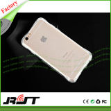 Caixa transparente Shockproof do telefone do coxim de ar TPU para o iPhone 6 6s