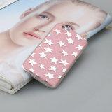 Cubierta protectora completa del teléfono suave brillante rosado de la estrella TPU para el iPhone 6/6s