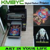 Neues Model Flatbed Digital T Shirt Printing Machine mit Good Sales