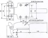 Resourの冷蔵室のドアノブ、ラッチ、ヒンジCx1538p