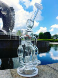 De nieuwste Hand Geblazen Waterpijp van het Glas van het Glas Receycle Waterpipes Aangepaste door Enjoylife Factory