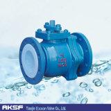 Aço de molde de DIN/BS/API/válvula esfera de Stainess Steel/PTFE