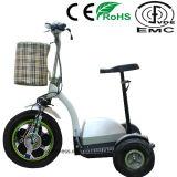Самокат удобоподвижности 3 колес с удлиненным местом для старейшини