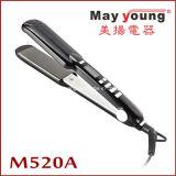 Straightener Titanium do cabelo do revestimento da alta qualidade do saque M520