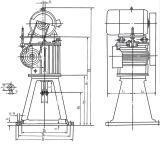 Lcw Serien-vertikaler Lichtbogen-Zylinder-Wurm Reductor