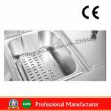 sartén eléctrica del acero inoxidable 6L+6L con el Ce (WF-062)