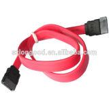 Cable de datos rojo de alta velocidad del mecanismo impulsor duro del cuento por entregas SATA 30 cm