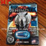 El reforzador masculino del sexo del rinoceronte 7k encapsula píldoras del sexo