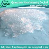 Polímero absorvente super do tecido do bebê com certificação do GV