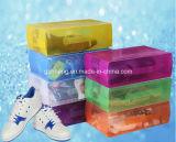Het Plastiek die van pp de Doos van de Schoen van het Handvat van het Kristal van Pakken (HH05) vouwen
