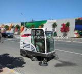 Laufwerksart Straßen-Kehrmaschine-Maschinen-elektrische Kehrmaschine