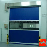 Große Geschwindigkeit Außen-Belüftung-schnelle Rollen-Blendenverschluss-Tür (HF-J02)