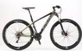 """do """" bicicleta de montanha da fibra T700 carbono 26*17 com 30s"""