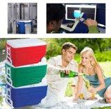 Caixa média plástica do refrigerador