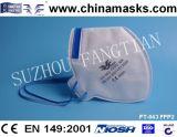 Masque jetable de sécurité de masque de poussière de masque protecteur de la CE