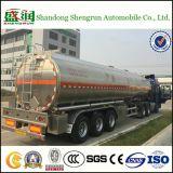48000litres de Aanhangwagen van de Tanker van de Brandstof van de Legering van het aluminium
