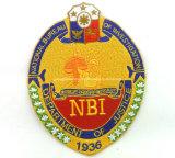 A polícia do bordado da alta qualidade Badge