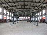 Kundenspezifischer Entwurf fabrizierte h-Kapitel-Stahlrahmen-Halle vor