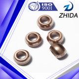 Bucha aglomerada do Oiliness rolamento de cobre para peças de automóvel