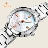 3명의 ATM 물 저항하는 강철 시계 숙녀 질 형식 우연한 석영 Wristwatch71089