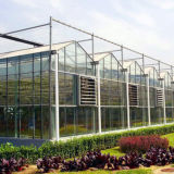 Invernadero comercial del vidrio del Multi-Palmo de la agricultura