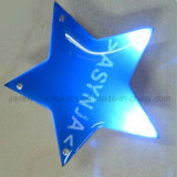 Изготовленный на заказ звезда моргая напечатанным светам СИД с логосом (3569)