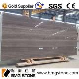 Kaffee-hölzerner Ader-Marmor für Bodenbelag-Fliesen oder Wand