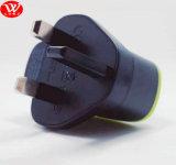 Заряжатель USB Belkin двойной с Pin Великобритании кабеля V8