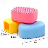 Roupa macia durável Eco-Friendly do silicone da venda por atacado creativa do presente que lava a escova