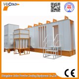 Pó Coating Spray Booth com Mono Cyclone Recovery System