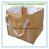 Grande sacchetto eccellente del sacco tessuto pp FIBC con 2 cicli