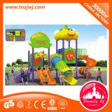 El jardín de la infancia embroma Plastic Outdoor Estructura de la diapositiva del patio