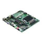 IntelのH61 LGA1155 I3/I5/I7 VGA/HDMI/Lvdsの超薄い小型ITXによって埋め込まれるマザーボード2 COM