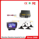 Sistema do sensor do estacionamento do carro da exposição do LCD com alarme da campainha eléctrica de 4 sensores para o carro
