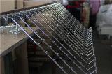 SGSのスーパーマーケットの下着のためのハングの陳列だなの金属のホック
