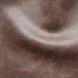 Cuero genuino que siente el cuero casero suave de Mircofiber de las materias textiles (1605#)