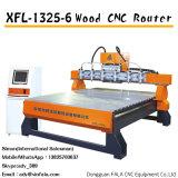 목공 기계 CNC 대패를 새기는 Xfl-1325-6 CNC 조각 기계