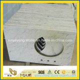 Castro White Marble Building Material per Construction Floor/Wall Decoration