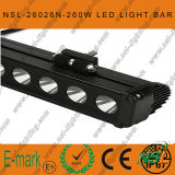 47inch 260W CREE LED Light Bar, Flood Euro 4WD Boat Ute Driving Work Lights, SR Light Bar van New 10W Range LED