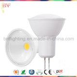 GU10 COB Reflector LED de 1W / 3W / 5W con Ce Saso