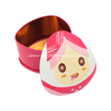Heißes Sale Rabbit Hearts Tin Box für Cookies/Biscuit/Candy/Chocolate/Gift