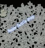 Оптовый шнурок хлопка для платья шнурка вышивки