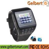 Telefoon van het Horloge van de Telefoon van de Cel SIM van het Scherm van de Aanraking van Gelbert de Dubbele Mobiele Slimme